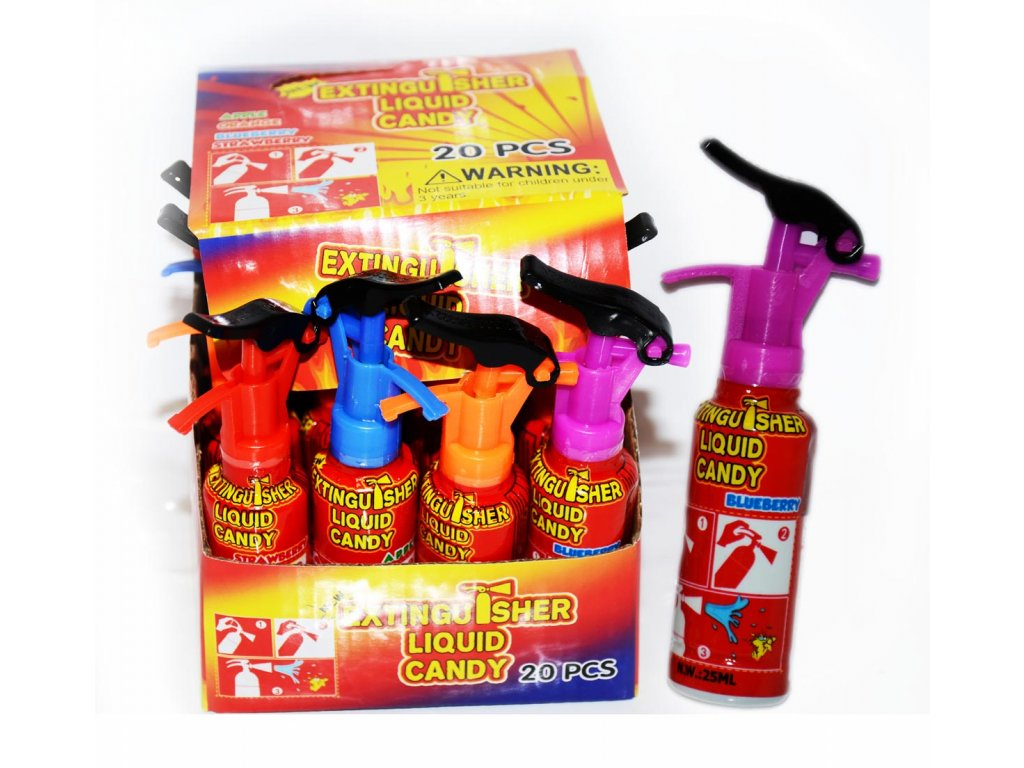 P-Spray Mini Fire Ext. 25ml (30x20)
