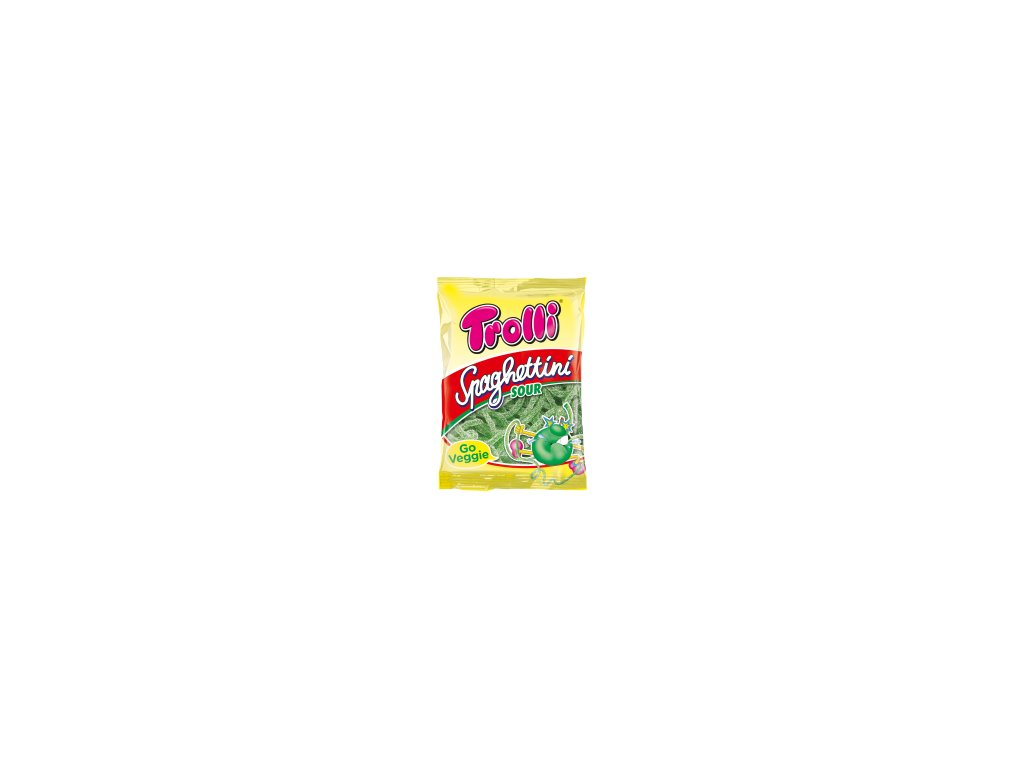 Spaghettini Sour Apple 100g 150x214