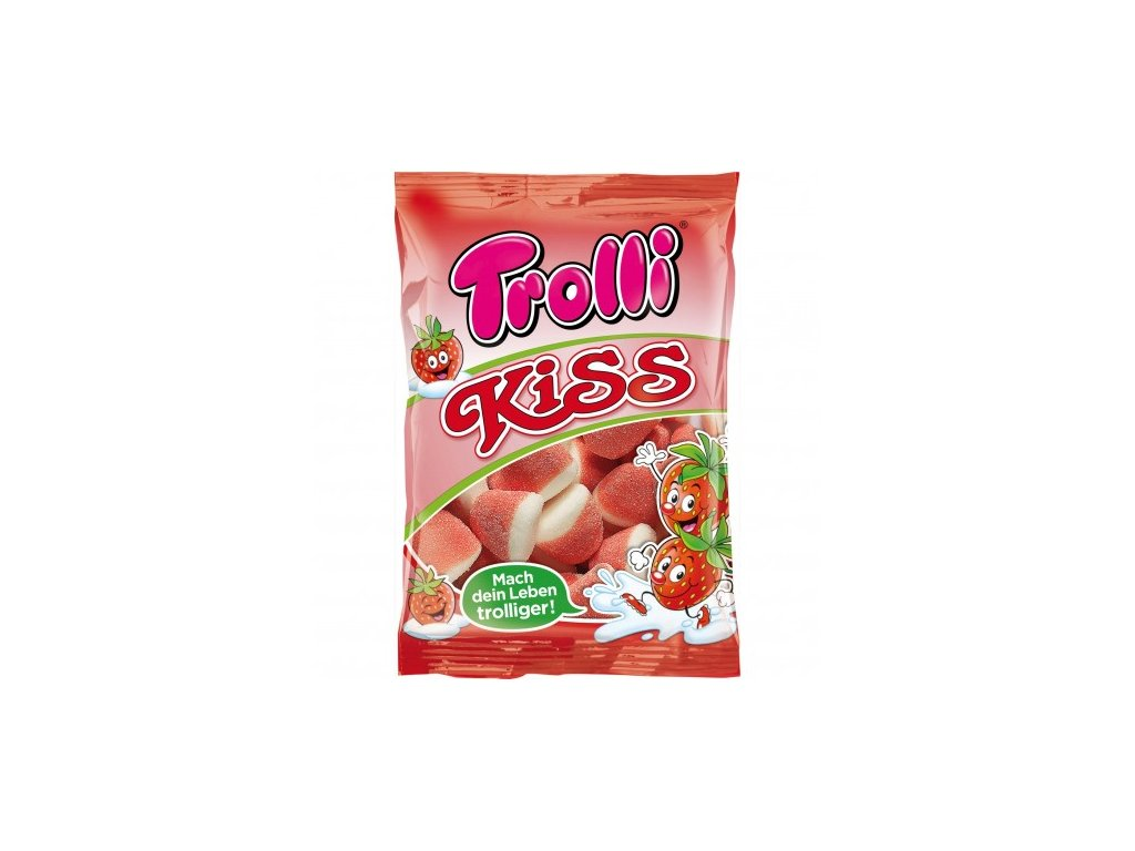 trolli kiss 200g